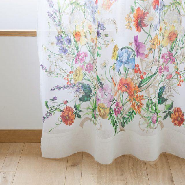Zara Floral Curtain
