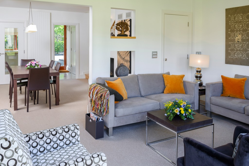5. Sheen Falls Country Club Luxury Holiday Homes Large Comfortable Living and Dining Space