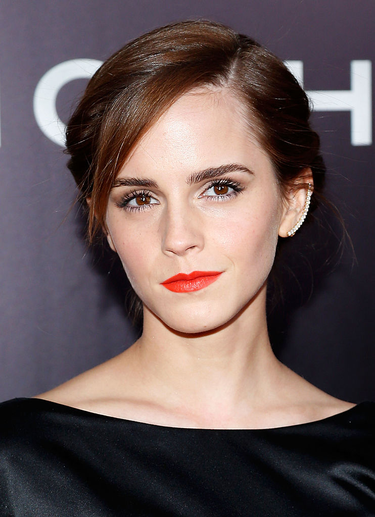 "NEW YORK, NY - MARCH 26: Actress Emma Watson attends the New York Premiere of ""Noah"" at Clearview Ziegfeld Theatre on March 26, 2014 in New York City. (Photo by Jemal Countess/Getty Images)"