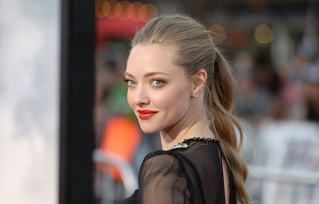 WESTWOOD, CA - MAY 15: Actress Amanda Seyfried attends the premiere of Universal Pictures and MRC's'A Million Ways To Die at The West' at Regency Village Theatre on May 15, 2014 in Westwood, California. (Photo by Jason Merritt/Getty Images)