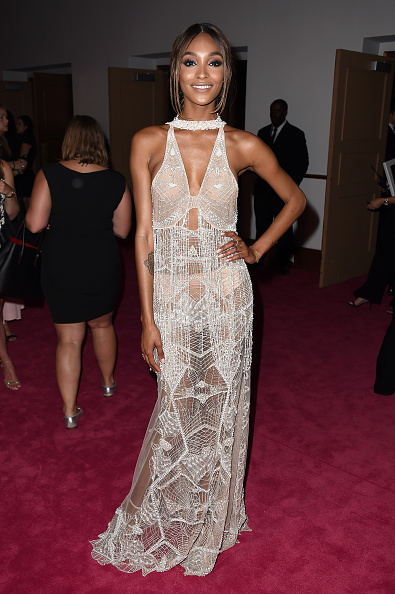 NEW YORK, NY - JUNE 06: Model Jourdan Dunn attends the 2016 CFDA Fashion Awards at the Hammerstein Ballroom on June 6, 2016 in New York City. (Photo by Nicholas Hunt/Getty Images)
