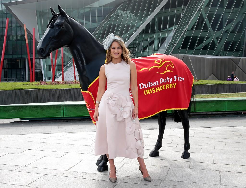 Rachel Stevens Dubai Derby 2