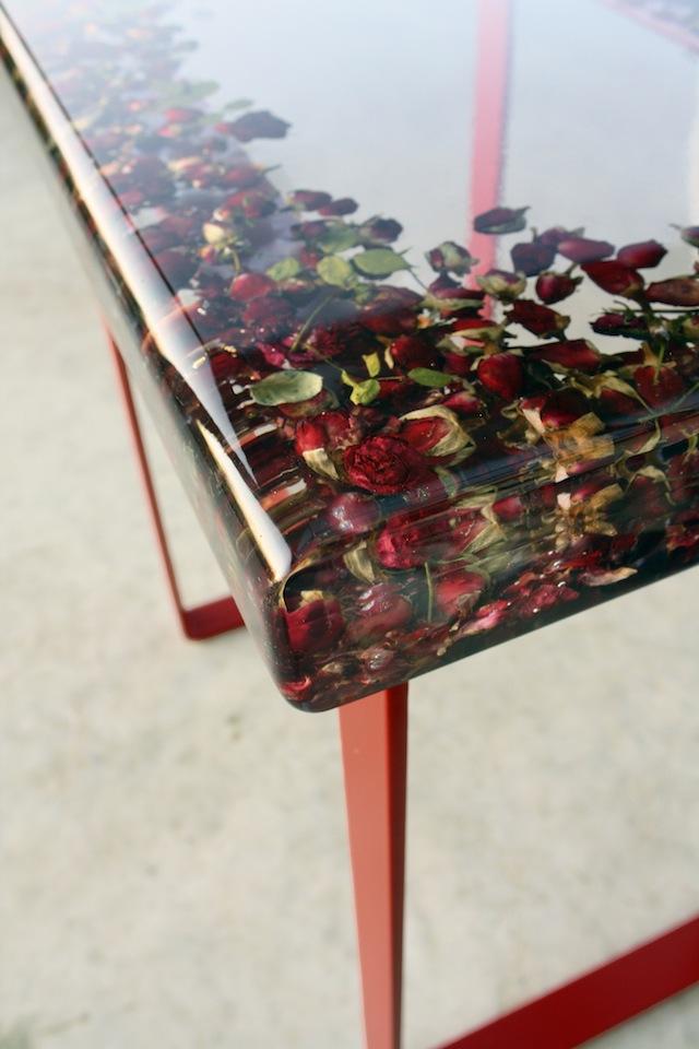 Rosebud Table corner by Sasha Syke of Farm21 young designers