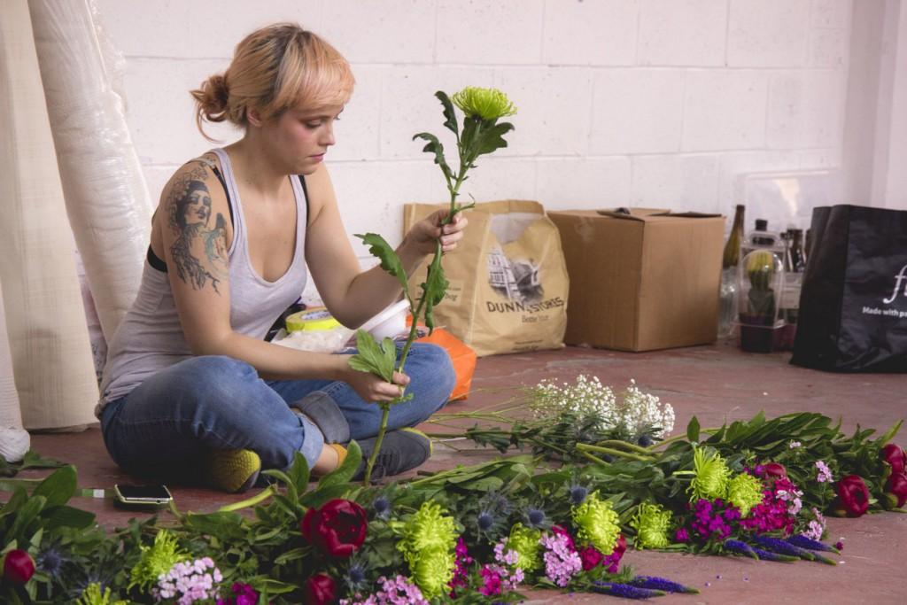 Hunt & Gather Flower Arranging