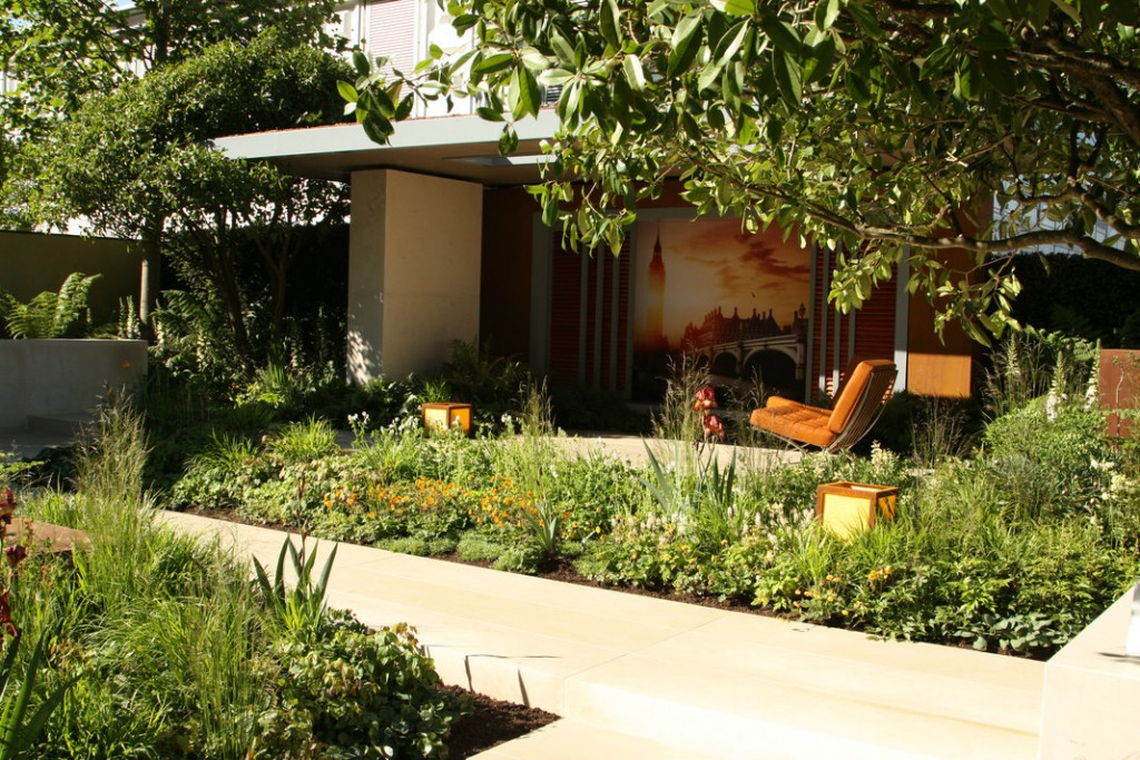 Paul Martin's Mindful Garden at RHS Chelsea Flower Show, Photo Courtesy of Ruth Monahan of Appasionata