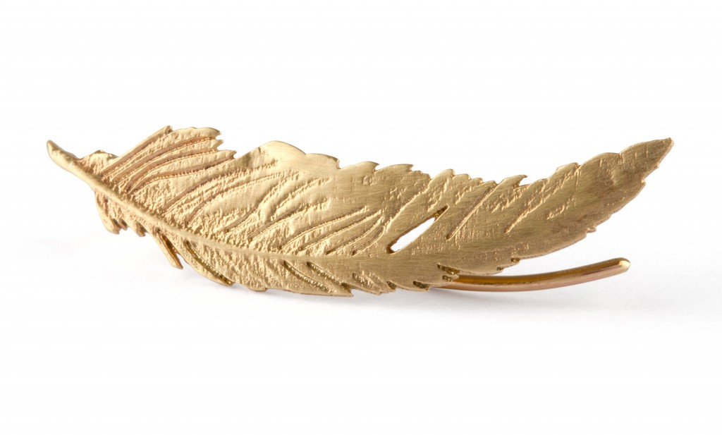 AMOC_-_Yellow_Gold_Feather_Cuff_Earring_-_High_Res