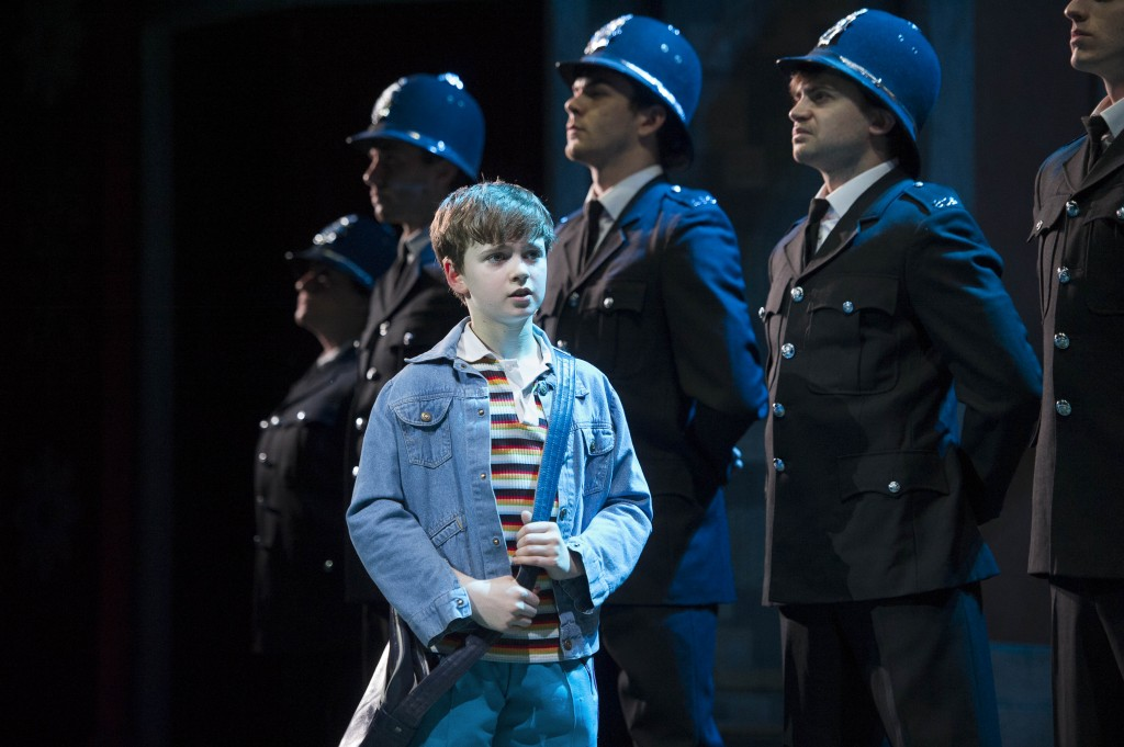 BILLY ELLIOT. Haydn May'Billy Elliot'. Photo by Alastair Muir (2)