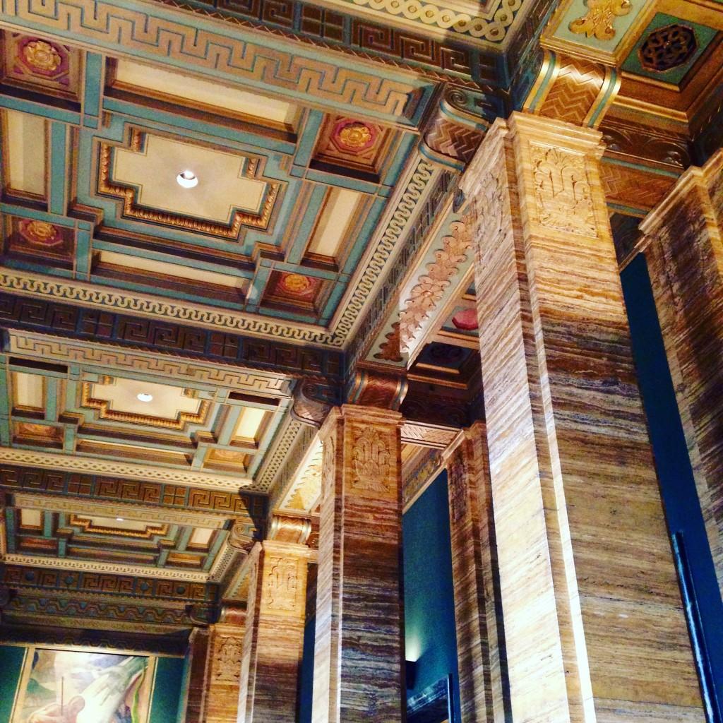 One Bunker Hill interior on Art Deco Walking Tour
