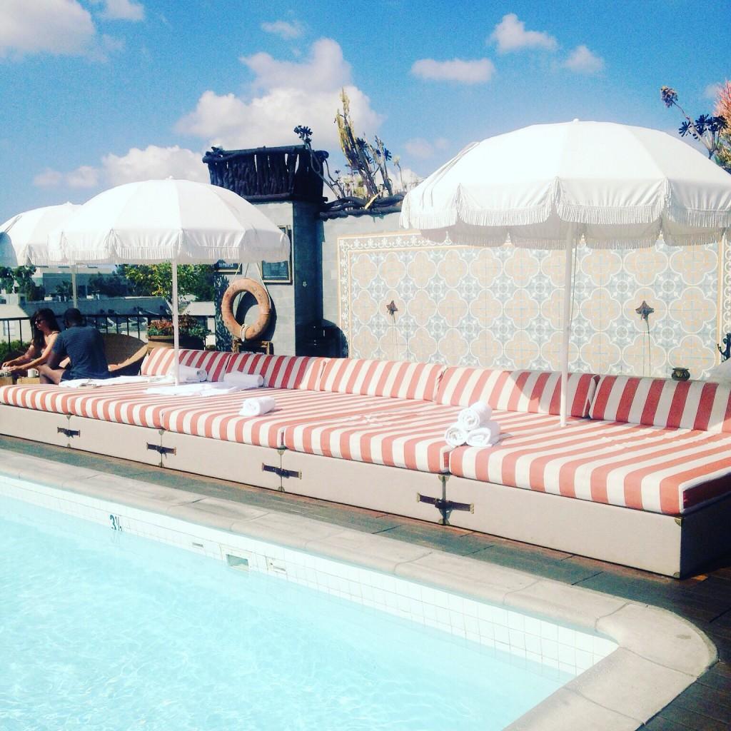 Petit Ermitage pool
