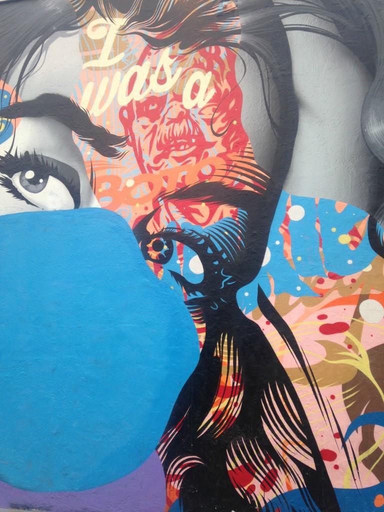 street art in Downtown LA