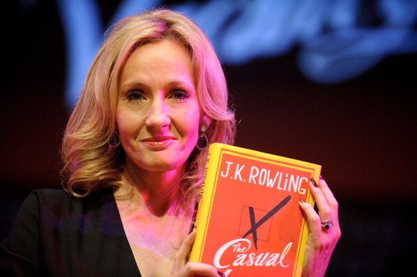LONDON, ENGLAND - SEPTEMBER 27: Author J.K. Rowling attends photocall ahead of her reading from'The Casual Vacancy' at the Queen Elizabeth Hall on September 27, 2012 in London, England. (Photo by Ben Pruchnie/Getty Images)