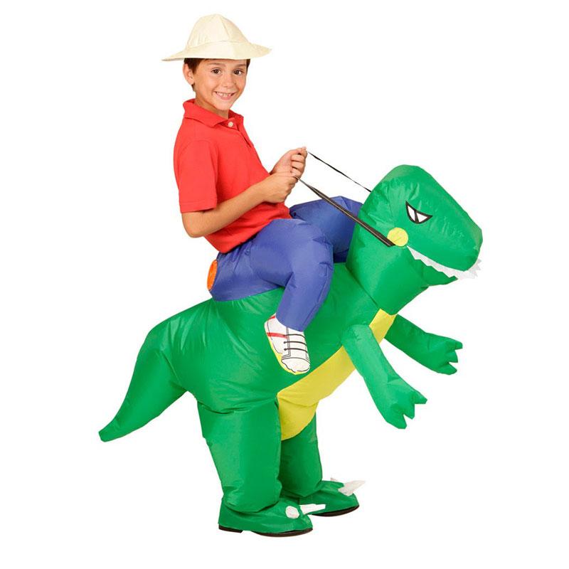 Inflatable-Dinosaur-font-b-Costume-b-font-for-Kids-font-b-Girls-b-font-Boys-Suits