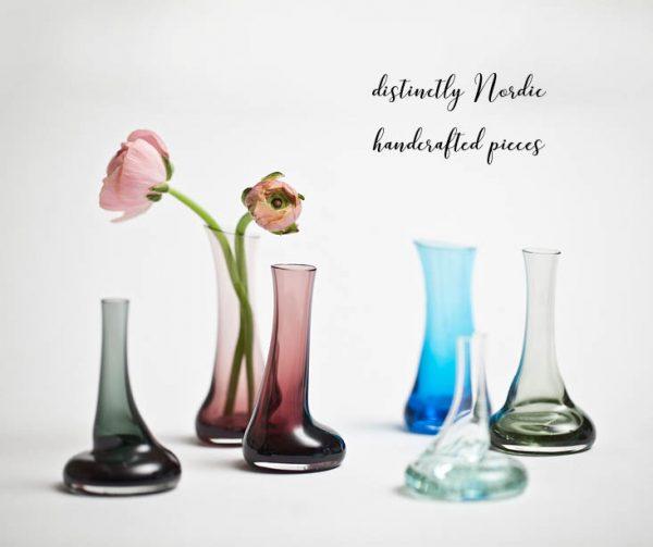 Nordic Makers Drop Vases