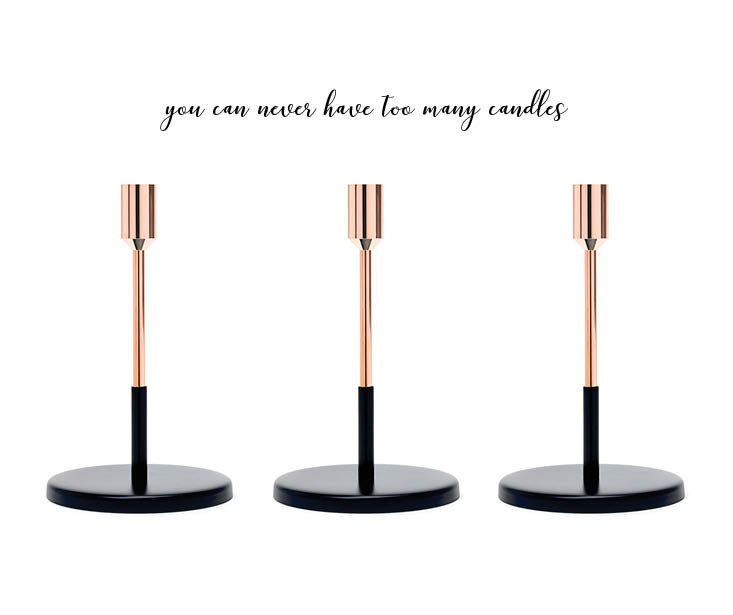 Article candle holders