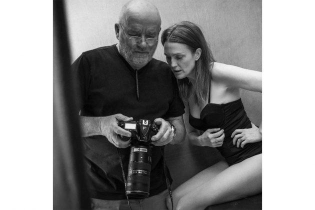 Peter Lindbergh & Julianne Moore