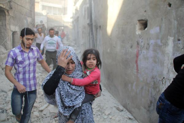 barrel-bombs-dropped-on-aleppo-funeral-wake-for-children