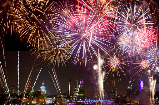 firework-and-night-view-of-st-pauls-cathedral