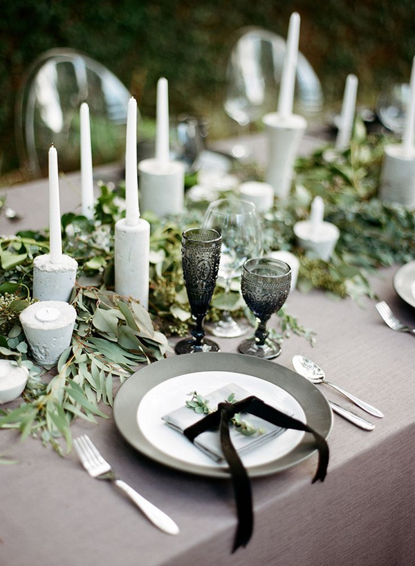 classic-winter-wedding-inspiration-with-a-black-whitegrey-and-green-palette