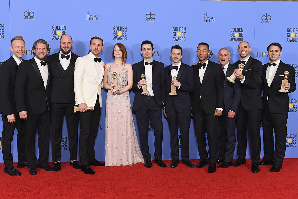 Cast and crew of'La La Land,'