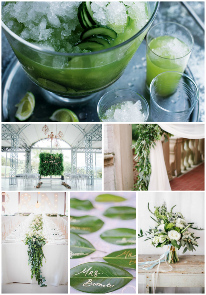 green-wedding