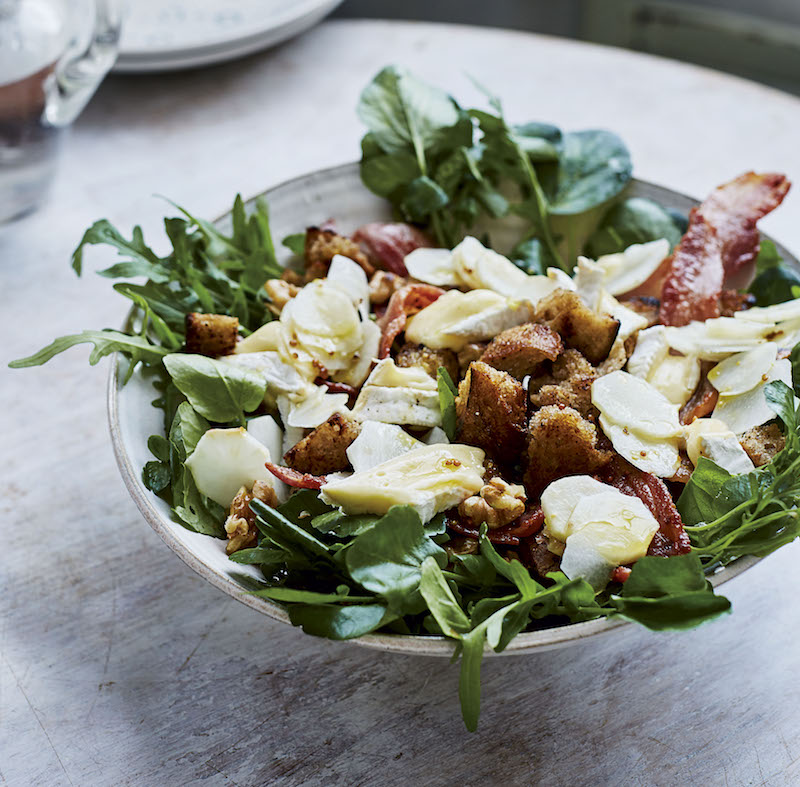 What to make for lunch: A toasty, nutty raw artichoke salad