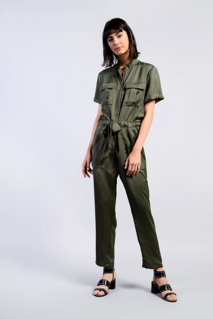 Safari silhouette jumpsuit, €60 at topshop.com