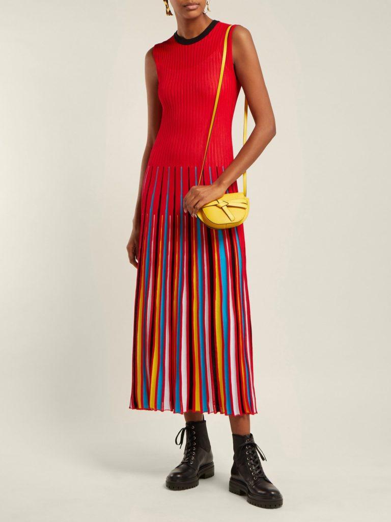 Knit dress by MSGM, €690 at matchesfashion.com