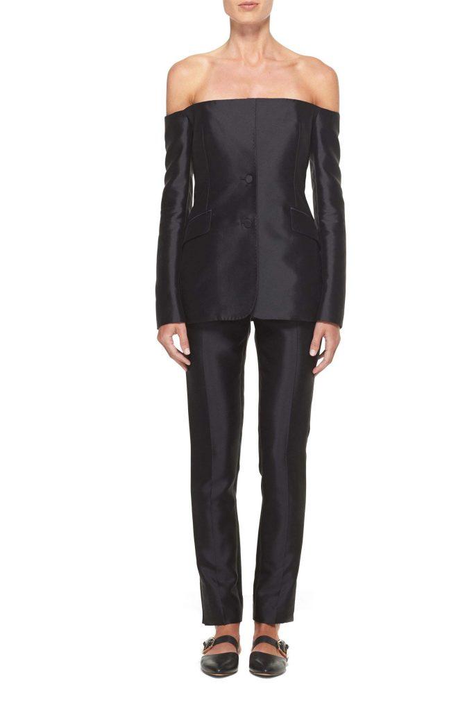Dorothea blazer, €1691.18. Masto pant, €843.47, atgabrielahearst.com