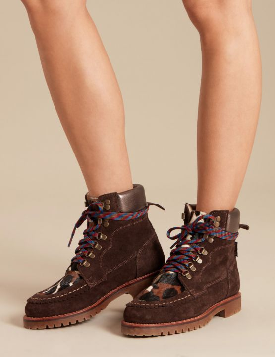 Pioneer suede/pony hair boot, €371.96 at PenelopeChivers.com