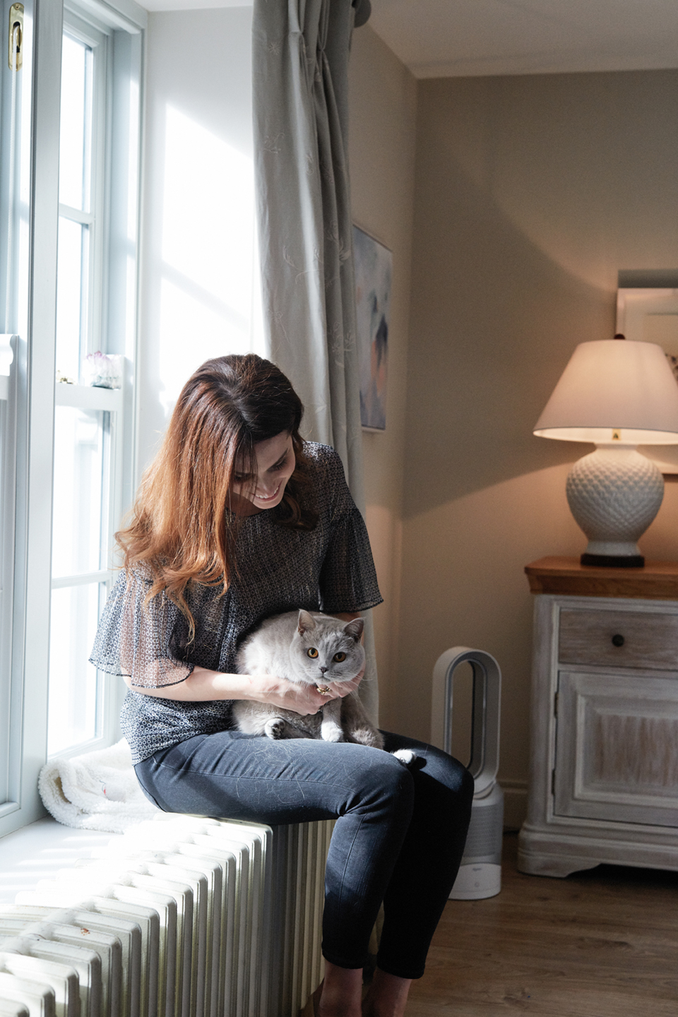 Dyson Pure Hot + Cold Link Holly White Cat Julie