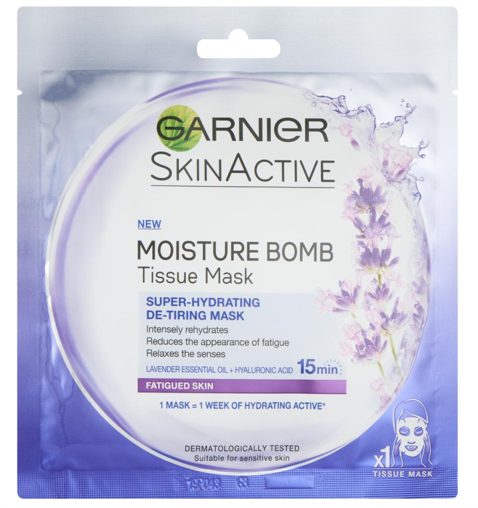 Garnier Moisture bomb tissue mask lavender