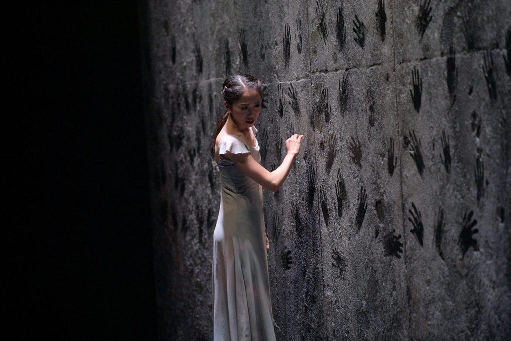 Ballerina Erina Takahashi in Akram Khan's Giselle