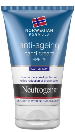 Neutrogena anti-ageing hand cream SPF 25