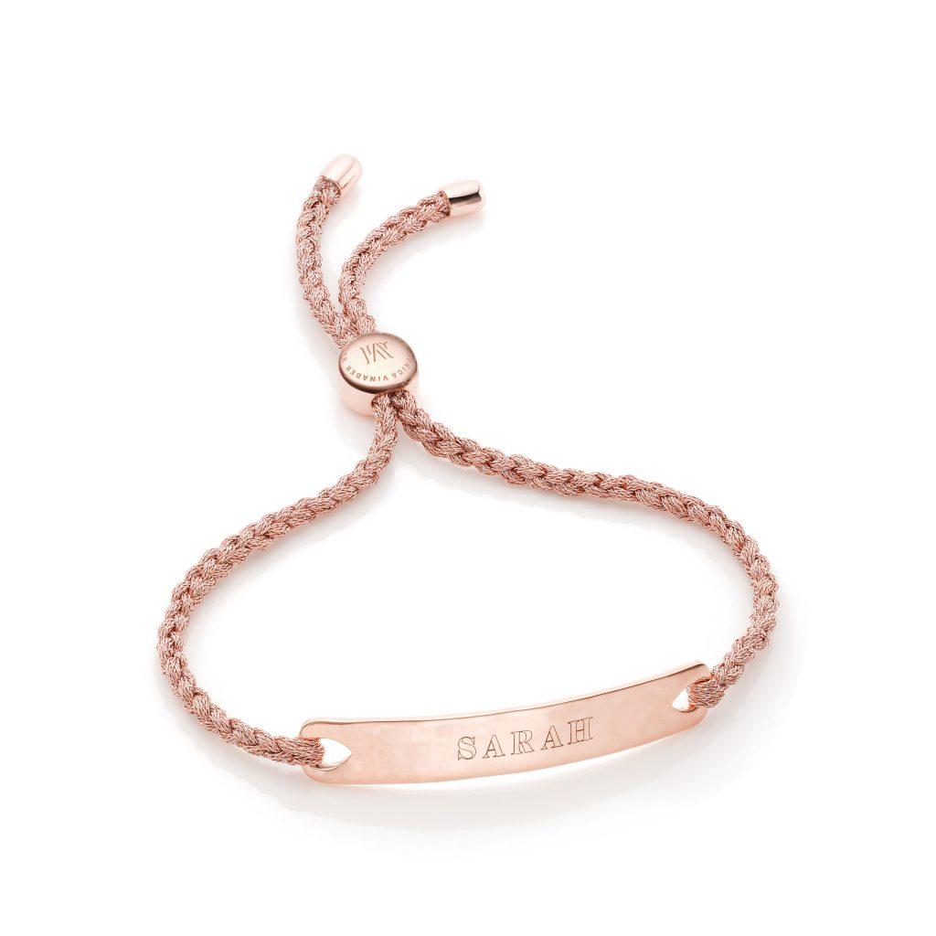 Monica Vinader Personalised Friendship Bracelet, €150