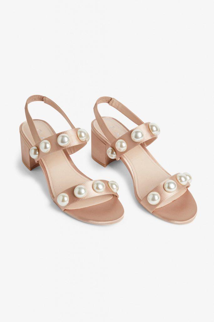 Slingback platform sandals, €30 at monki.com