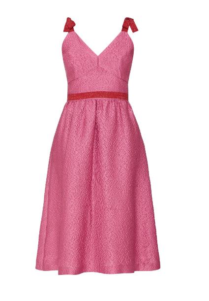NIAMH O NEILL Kim Tie Strap Dress Pink