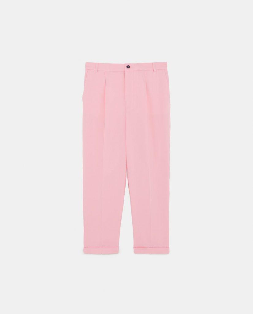 elasticated trousers, €39.95 at zara.com