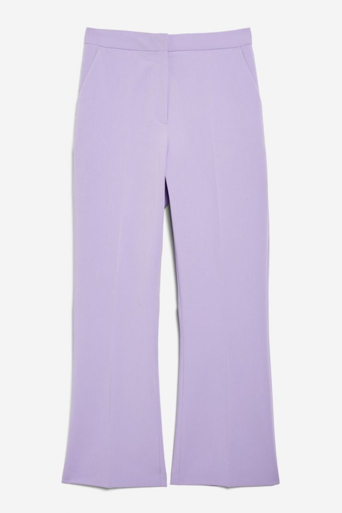 Cropped suit trousers, €42 at topshop.com