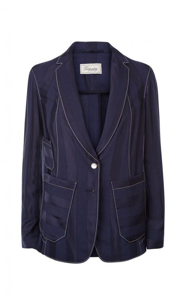 Sailboat tailored jacket, €995 at temperleylondon.com