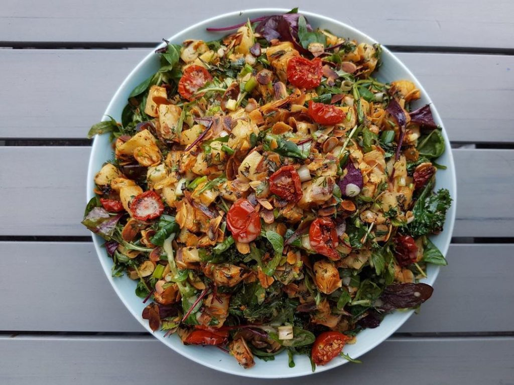 Foodgame salad, Ringsend