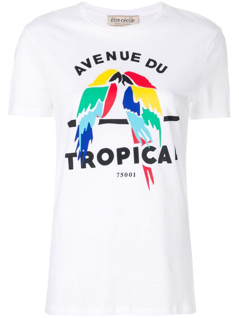 Avenue du Tropical T-shirt by Etre Cecile, €59 at farfetch.com