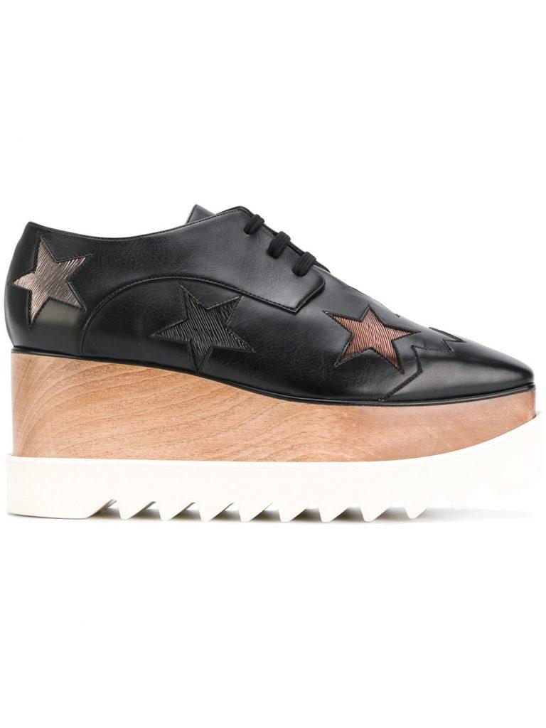 Star Elyse platform shoes by StellaMcCartney, €795 at farfetch.com