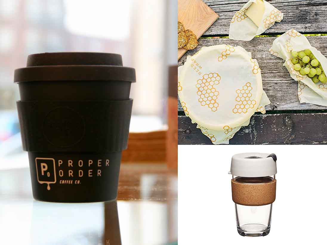 proper order keep cups beeswax wraps