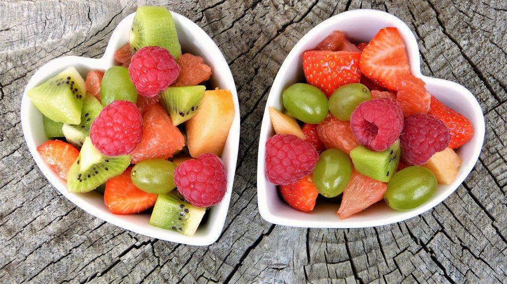 Fruit bowl, breakfast