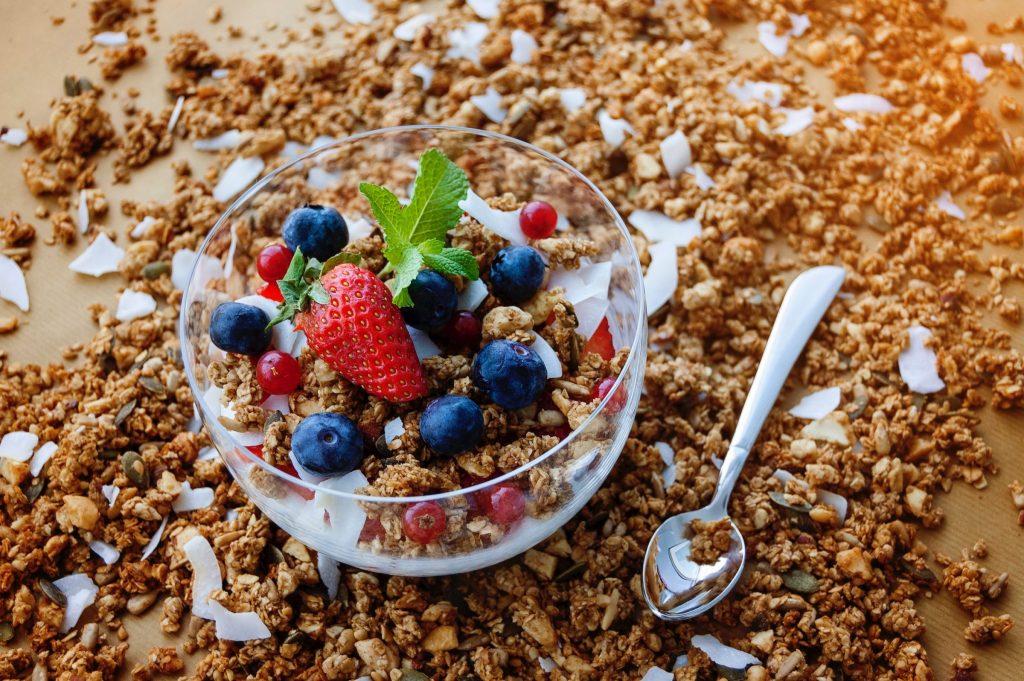 Granola, breakfast