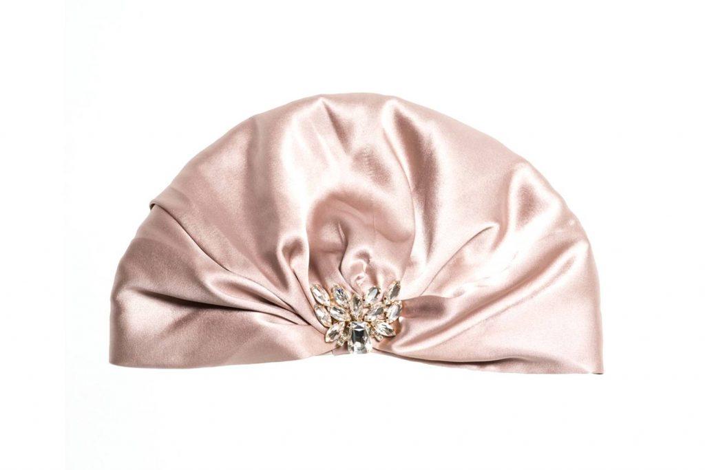 Silk turban, €165 atMarzoline