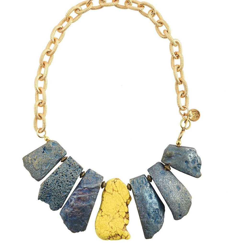 Zulu necklace by Aria V, €149 at thecollectivedublin.ie