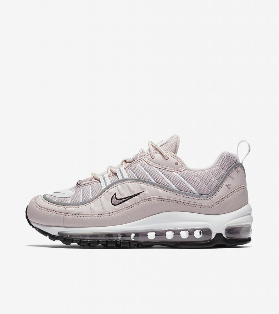 Air Max 98 in barely rose, €179.95 at maha-amsterdam.com