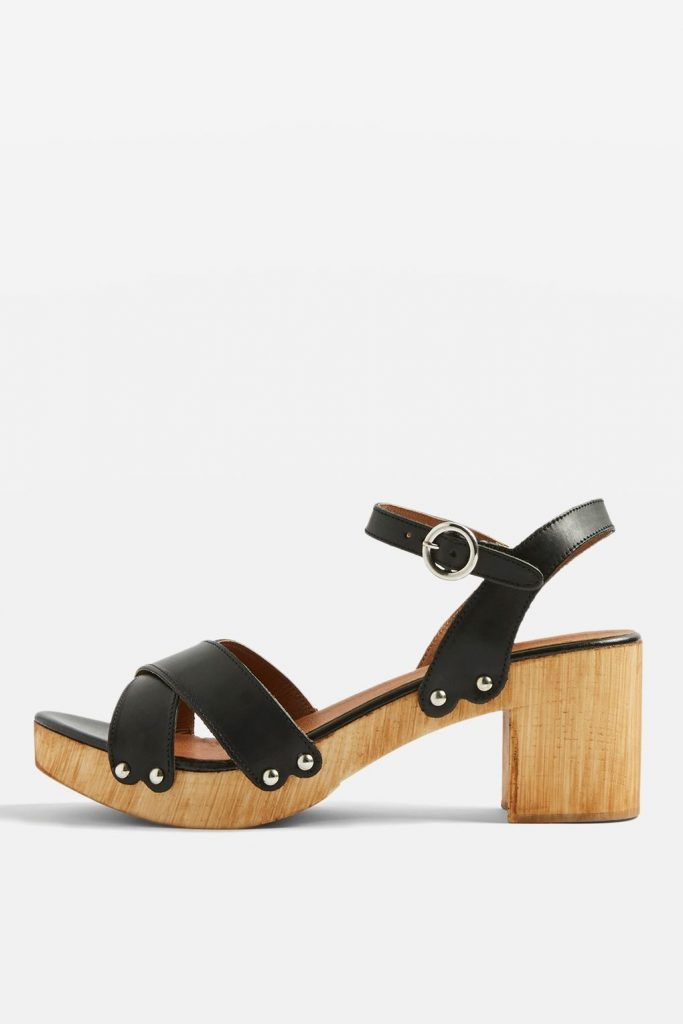 Valerie cross strap sandals, €50 at topshop.com