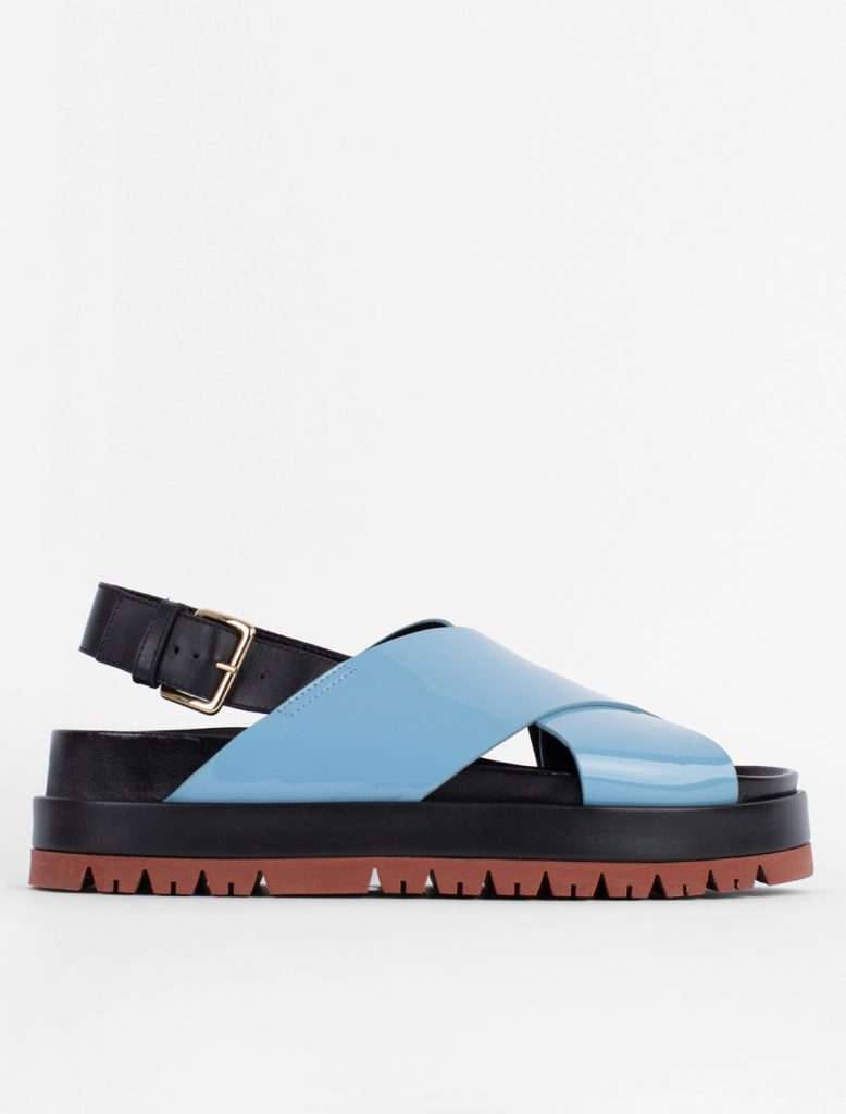 Contrast fussbett sandal by Marni, €480 at vooberlin.com